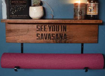personalized yoga mat holder  reilly creation sign your dream